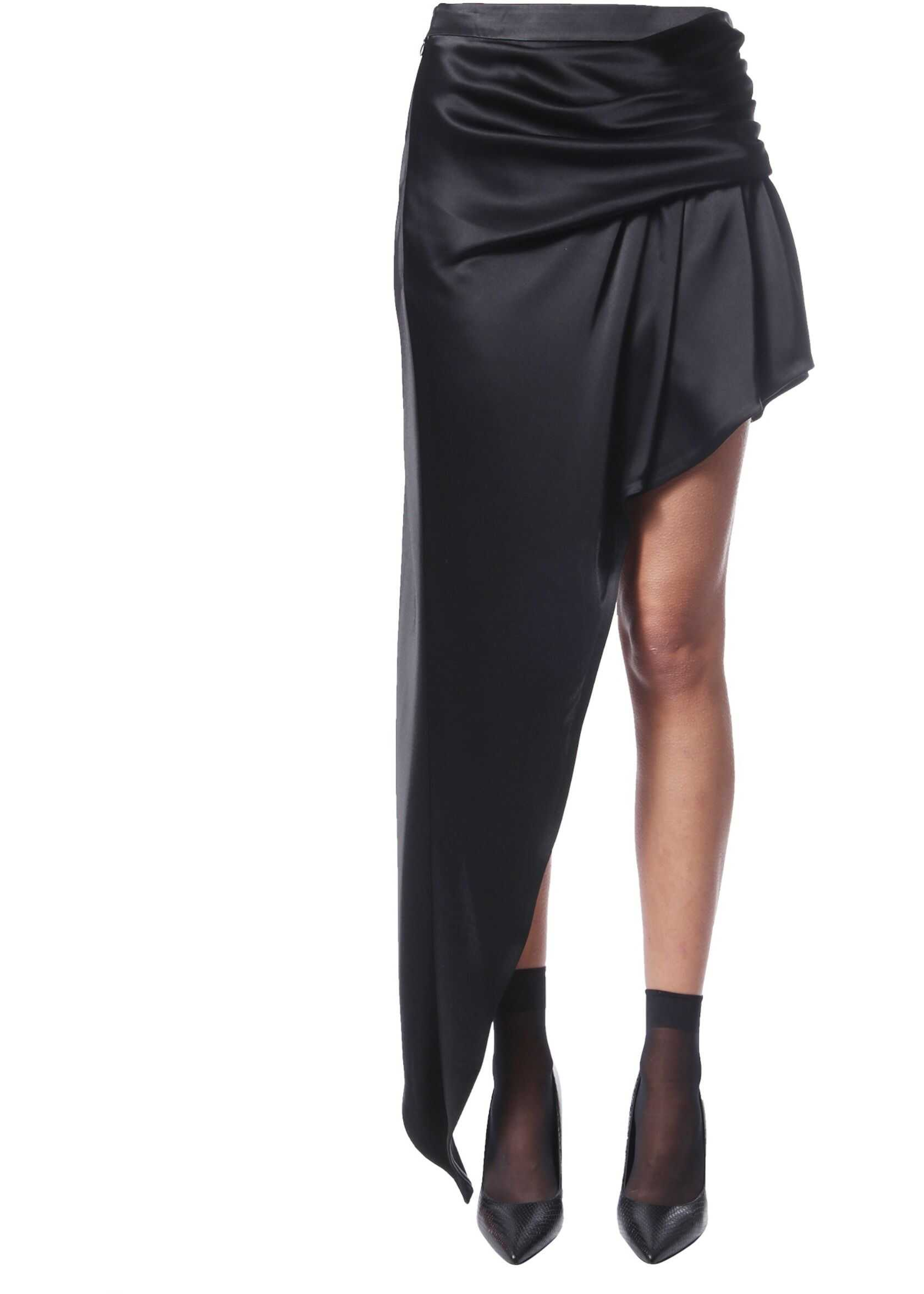 Alexander Wang Asymmetrical Skirt BLACK