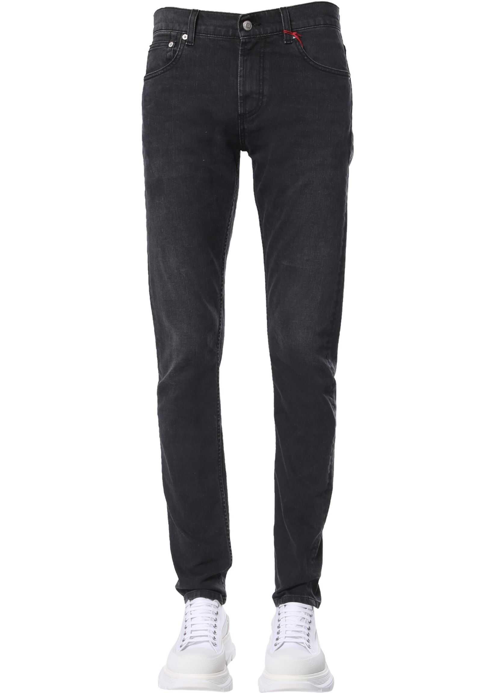 Alexander McQueen Skinny Fit Jeans BLACK