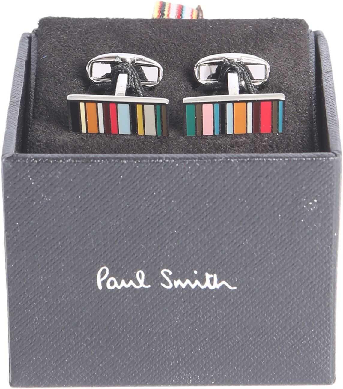 Paul Smith Striped Cufflinks MULTICOLOUR