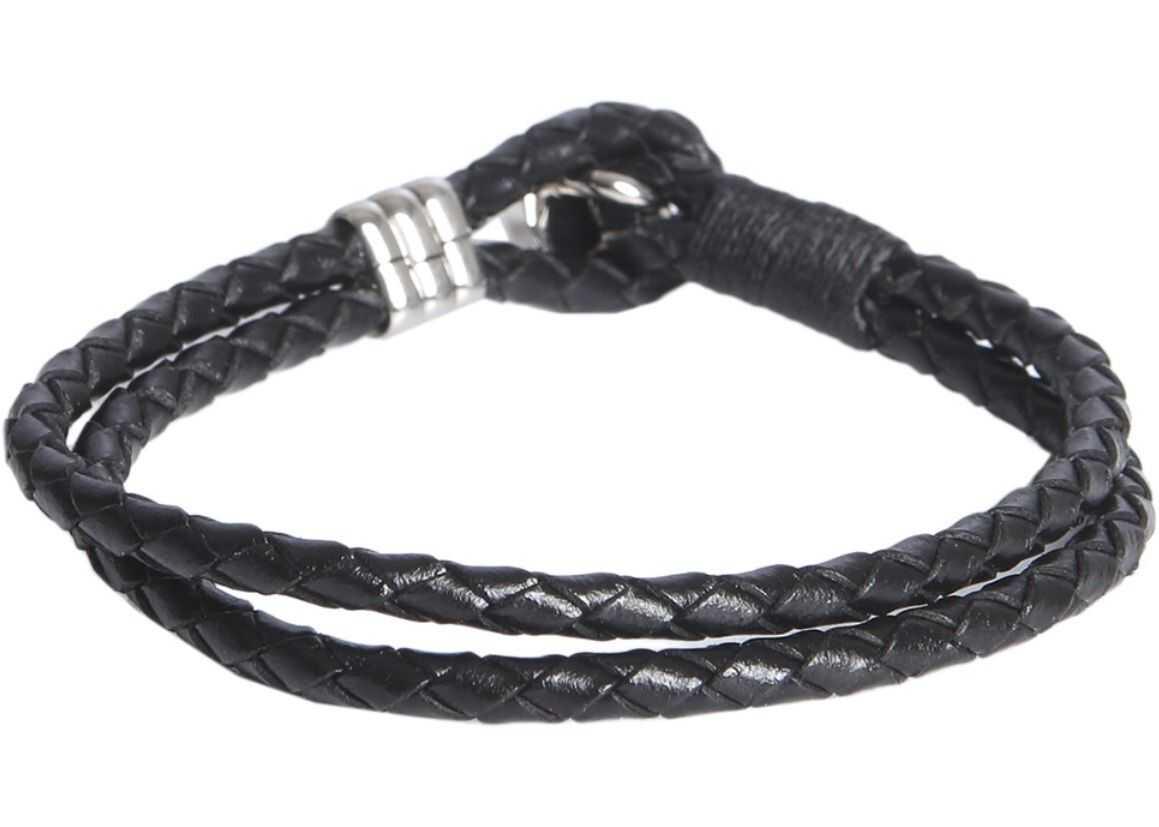 Paul Smith Braided Bracelet BLACK