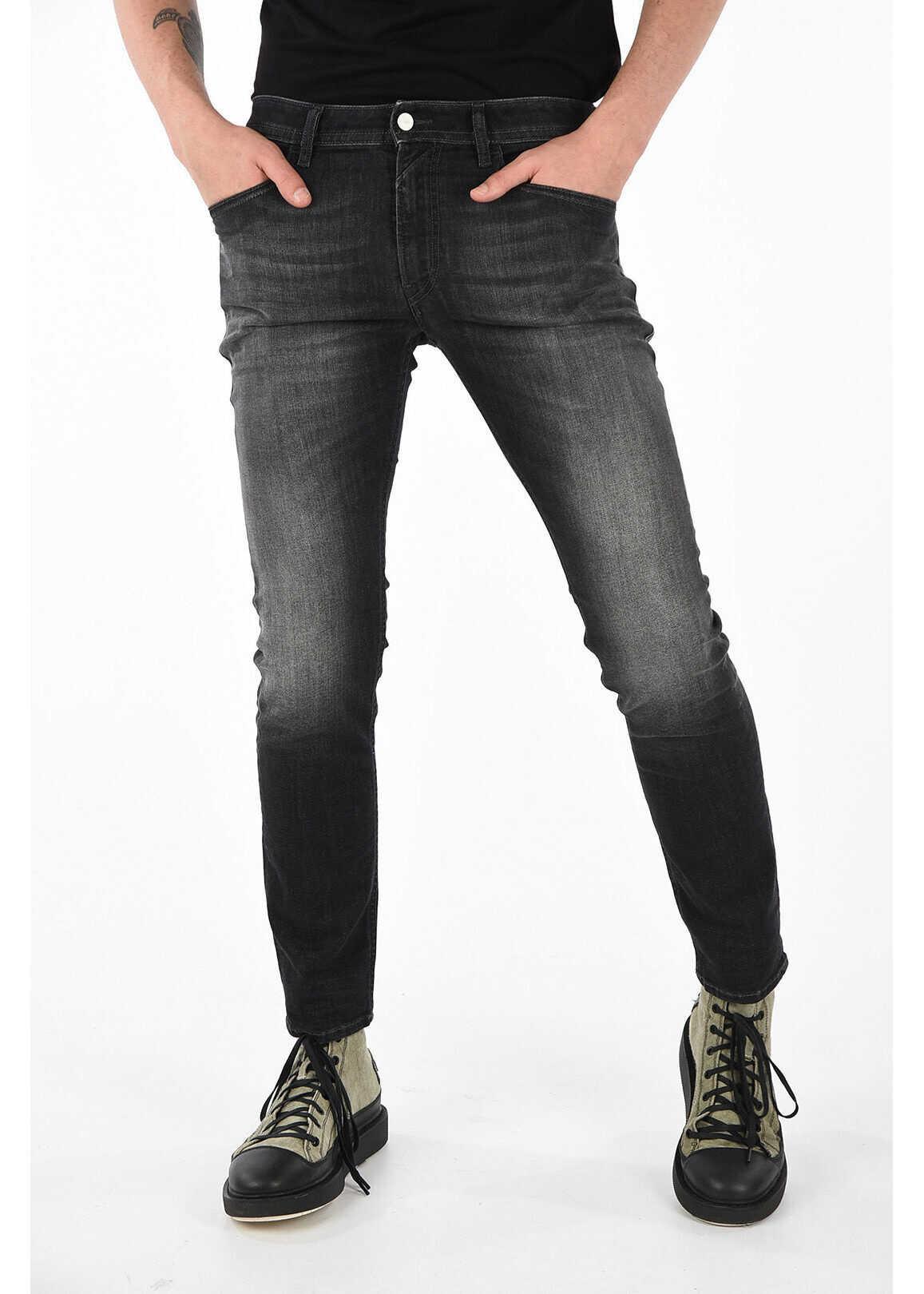 Diesel Stretch Denim THOMMER L.32 16cm Jeans* BLACK