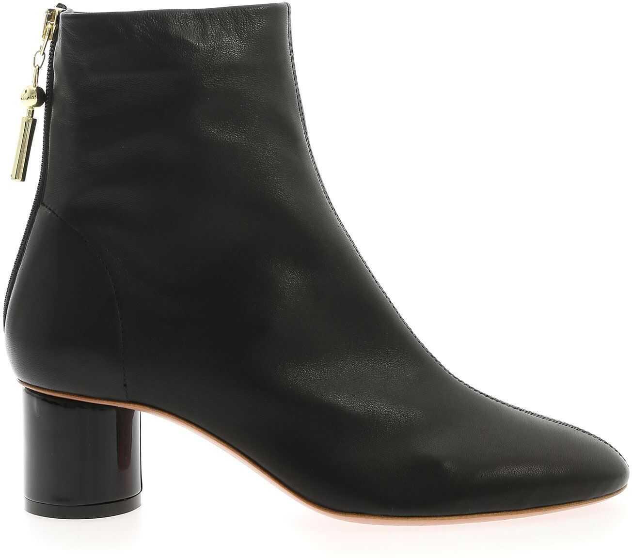 Anna Baiguera Annalia Ankle Boots In Black Black