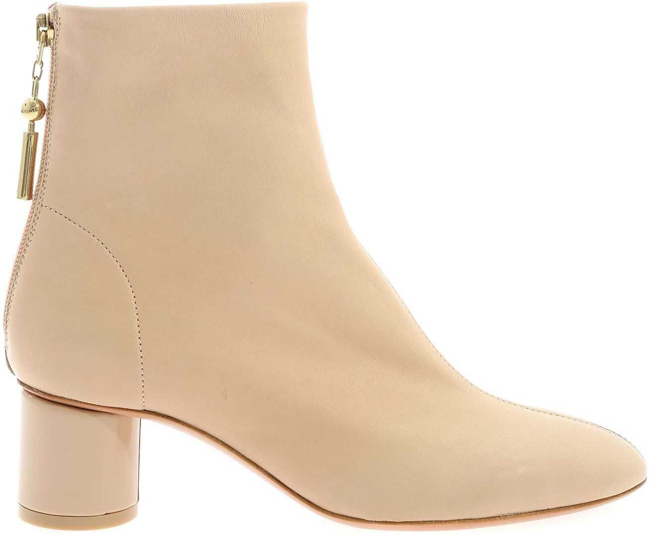 Anna Baiguera Annalia Ankle Boots In Pink Pink