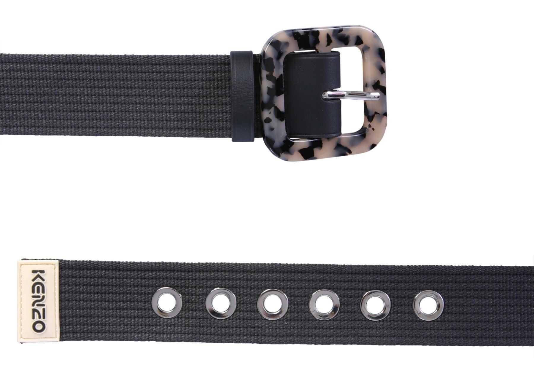 Kenzo Belt With Buckle BLACK