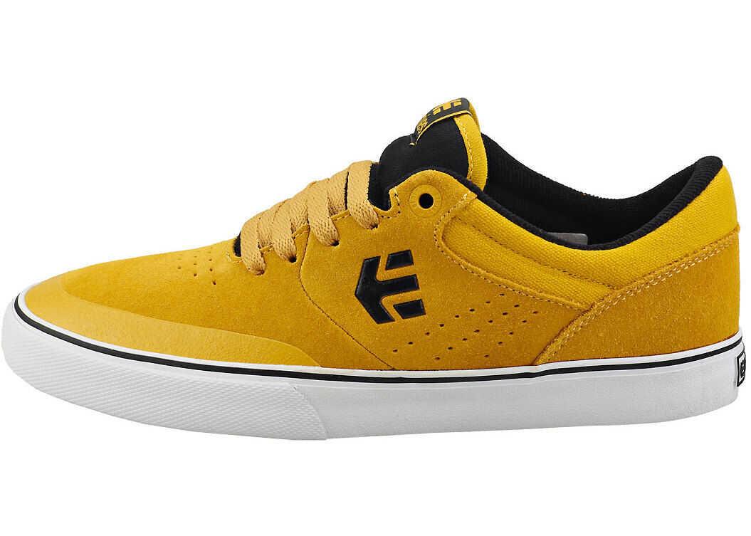 etnies Marana Vulc Skate Trainers In Yellow Black Yellow