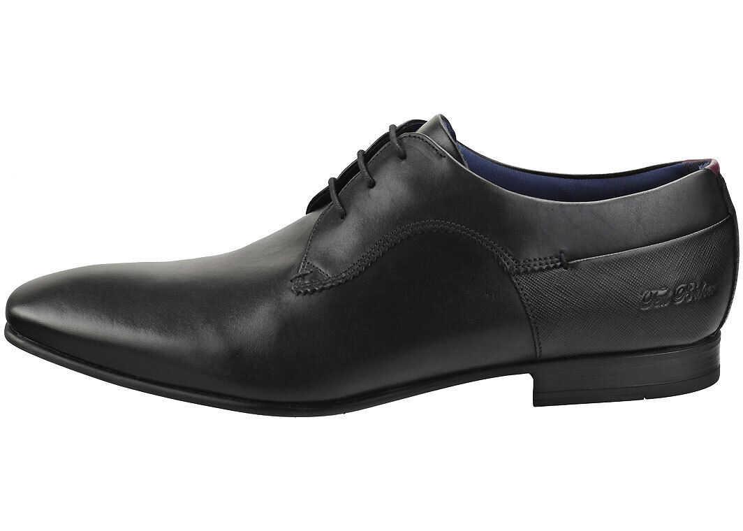 Ted Baker Trifp Smart Shoes In Black Black