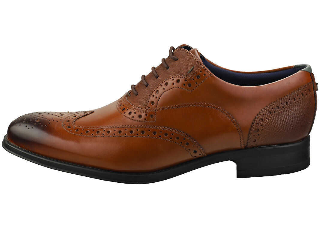 Ted Baker Mittal Brogue Shoes In Tan Tan