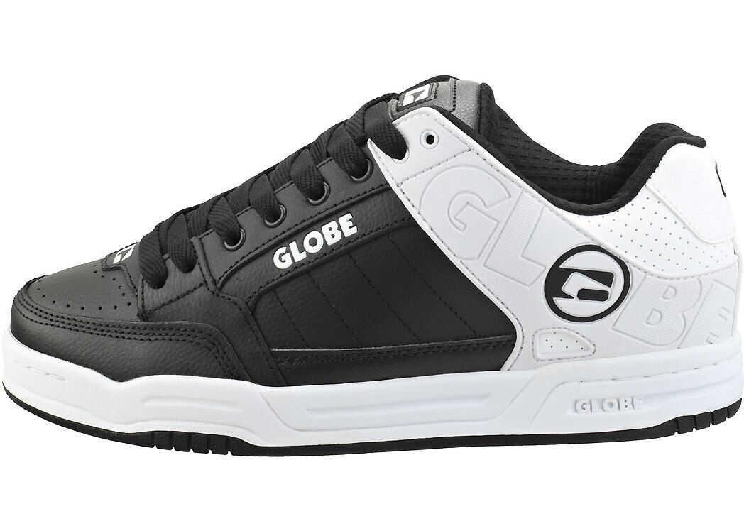 Globe Tilt Skate Trainers In Black White Black