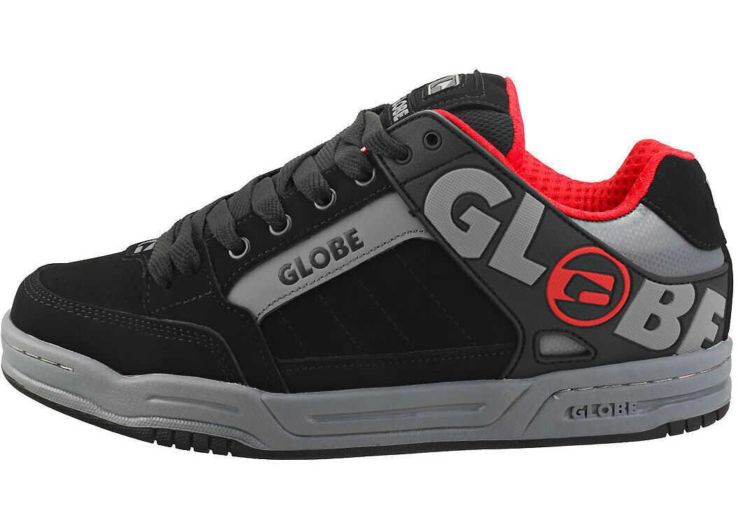 Globe Tilt Skate Trainers In Black Red Black