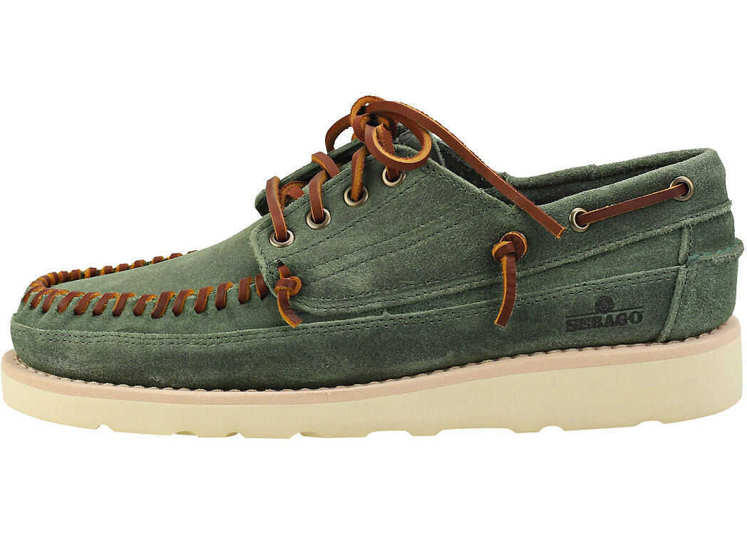 Campsides Keuka Boat Shoes In Green thumbnail
