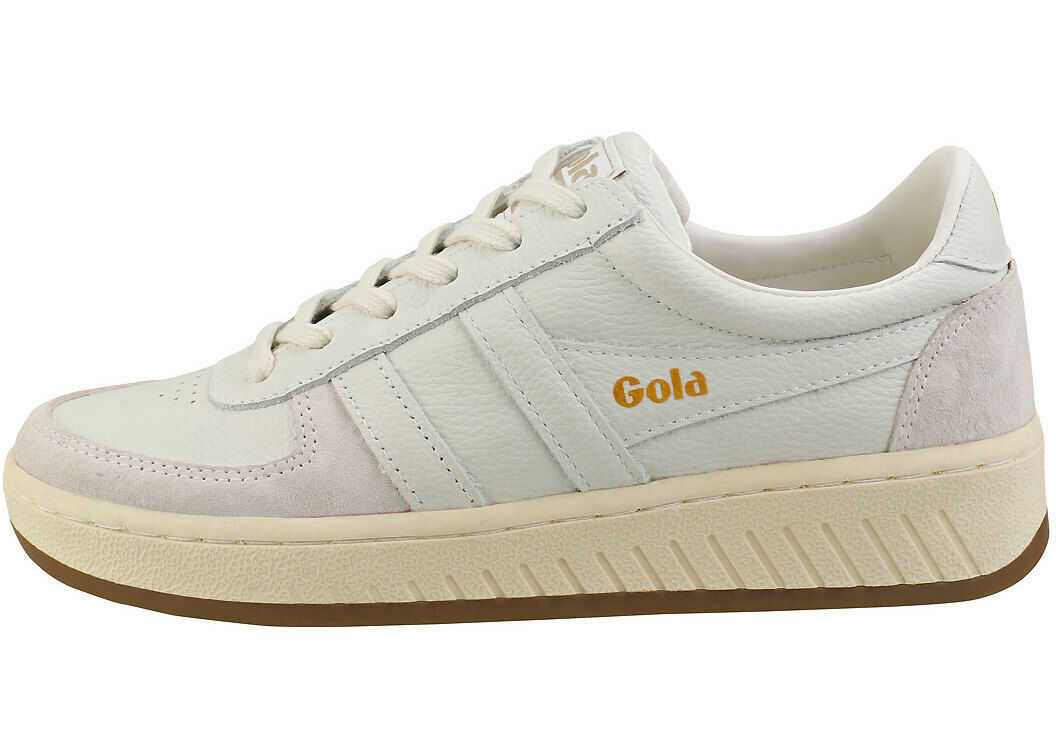 Gola Grandslam 78 Platform Trainers In Off White White