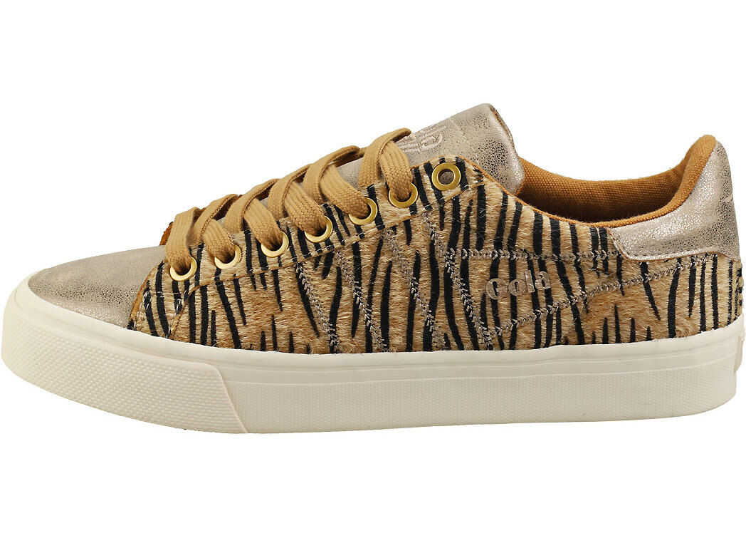 Gola Orchid 2 Safari Fashion Trainers In Tiger Multi-Colour