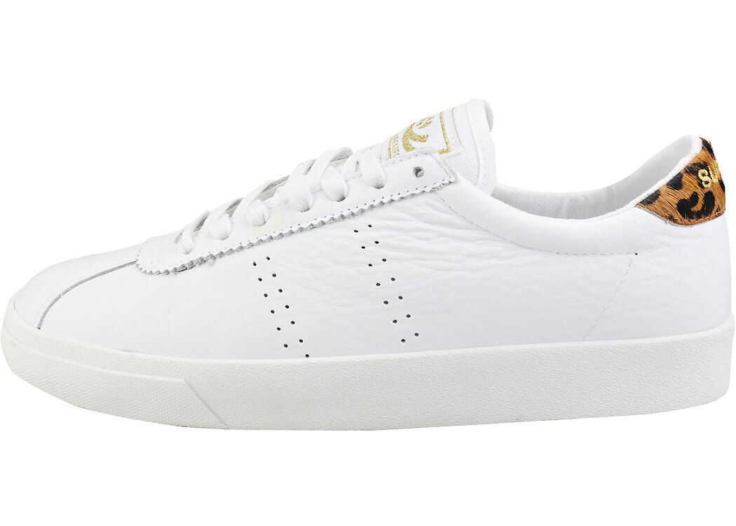 Superga 2843 Sport Club S Fashion Trainers In White White