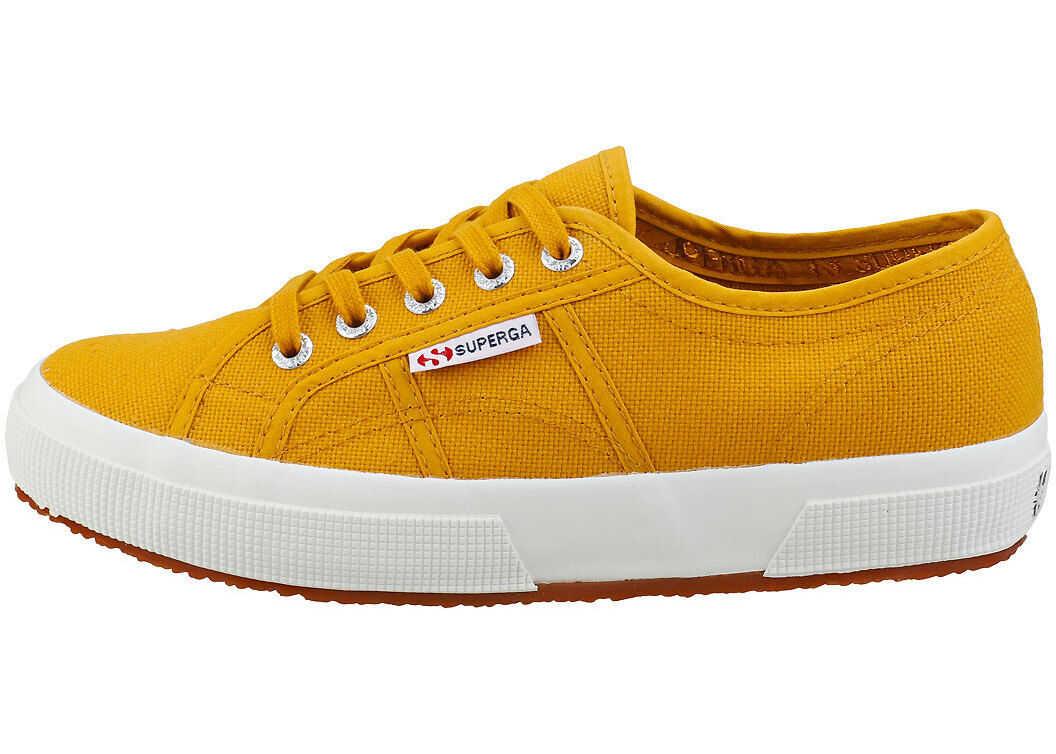 Superga 2750 Cotu Classic Fashion Trainers In Mustard Yellow