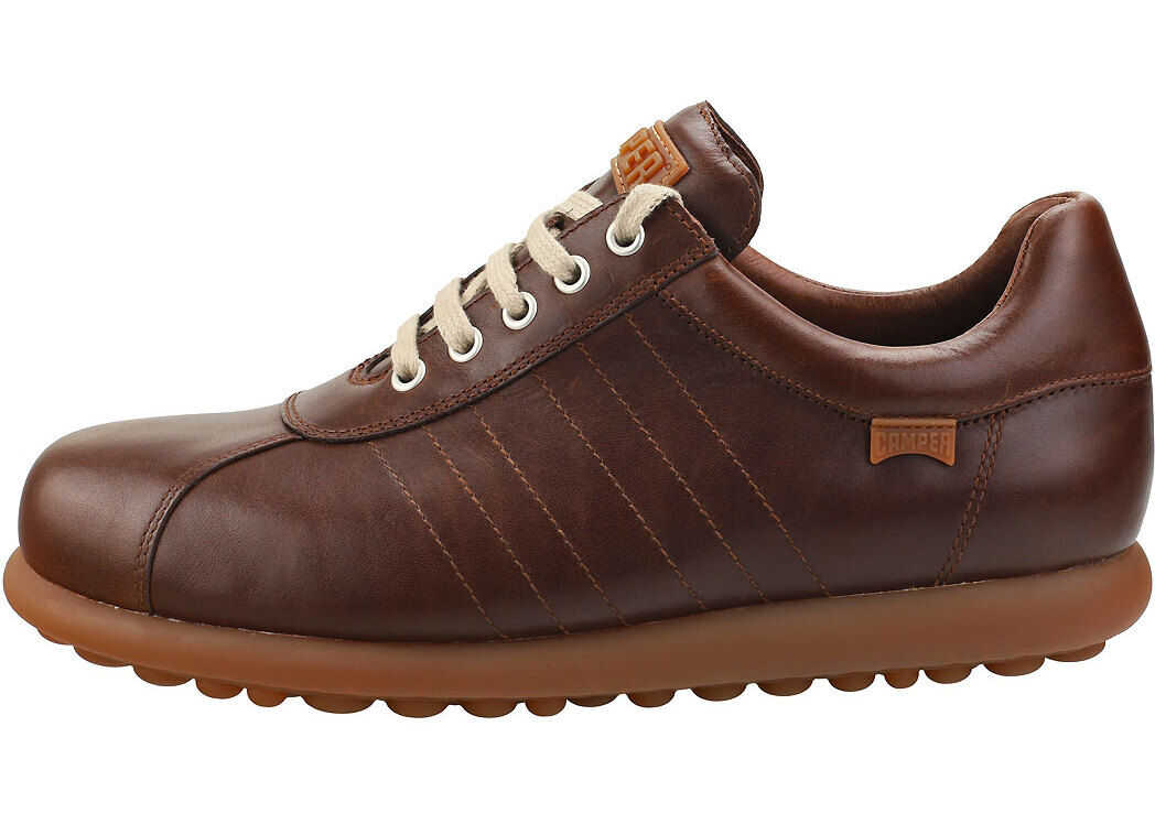 Camper Pelotas Ariel Casual Shoes In Dark Brown Brown