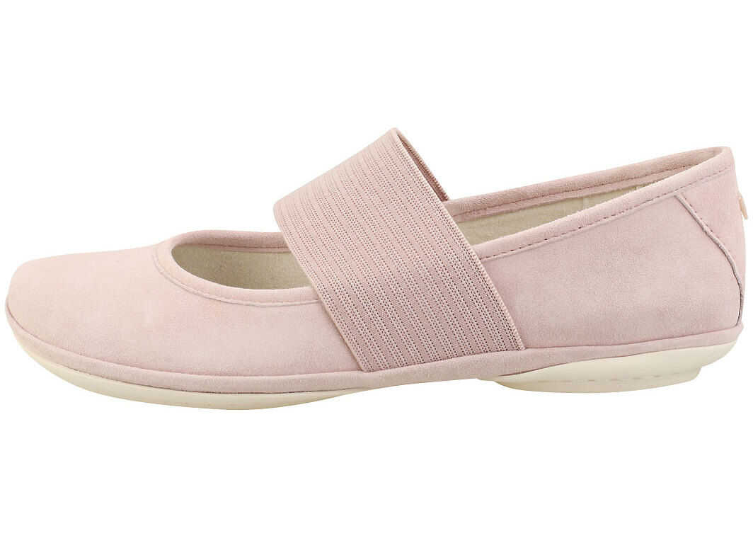 Camper Right Nina Ballerina Shoes In Pink Pink