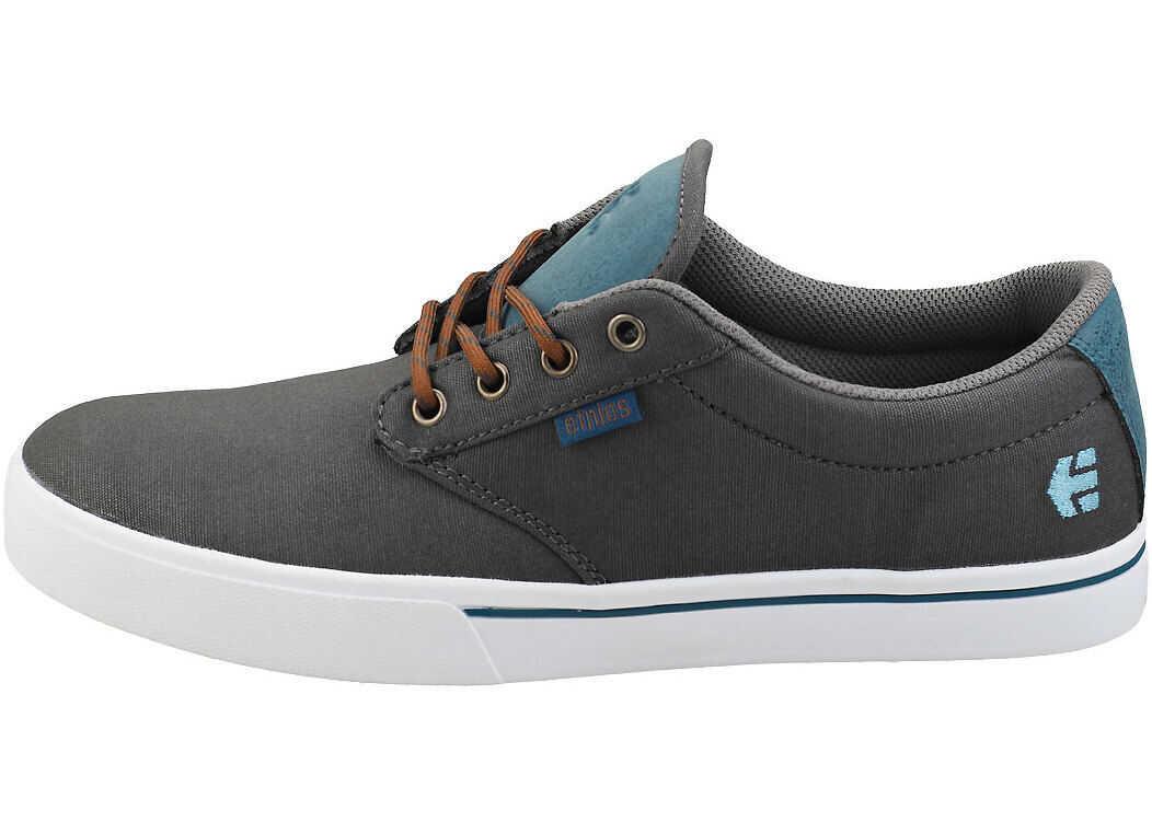 etnies Jameson 2 Eco Skate Trainers In Grey Blue Grey