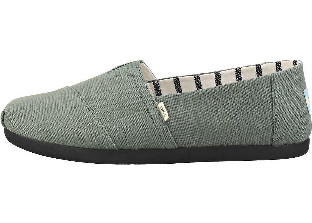 TOMS Classic Bonsai Espadrille Shoes In Green Green