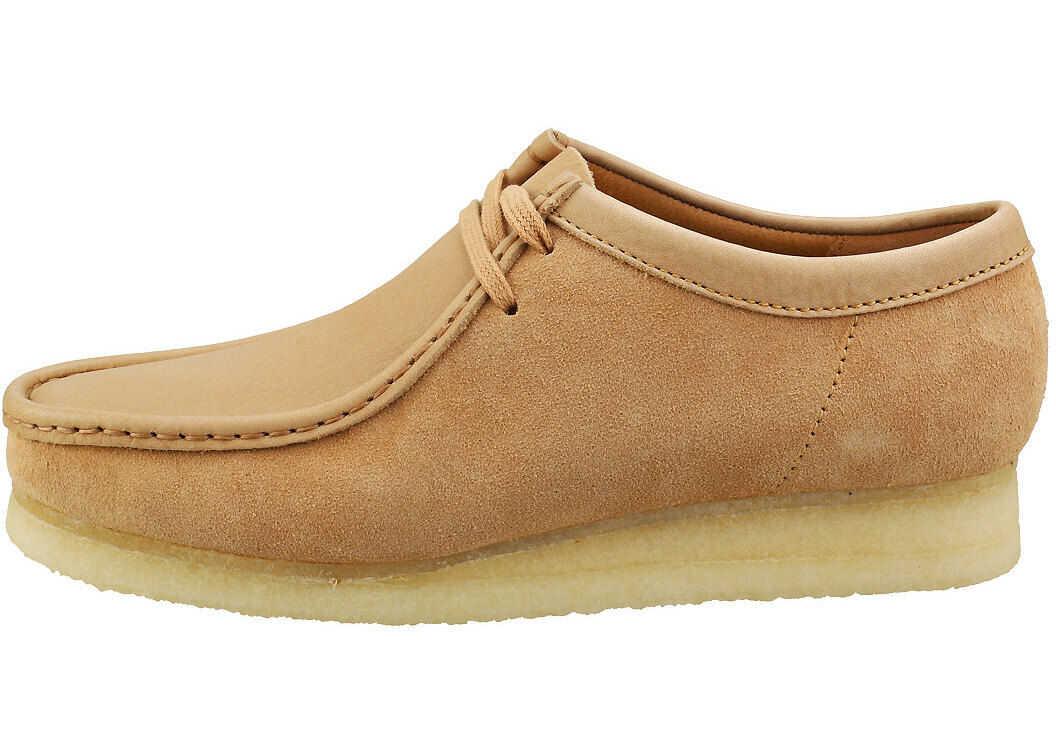 Clarks Wallabee Wallabee Shoes In Tan Tan