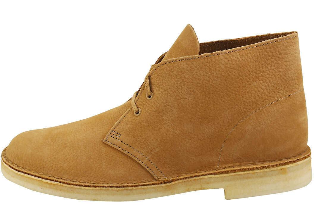 Clarks Desert Boot Desert Boots In Oak Beige