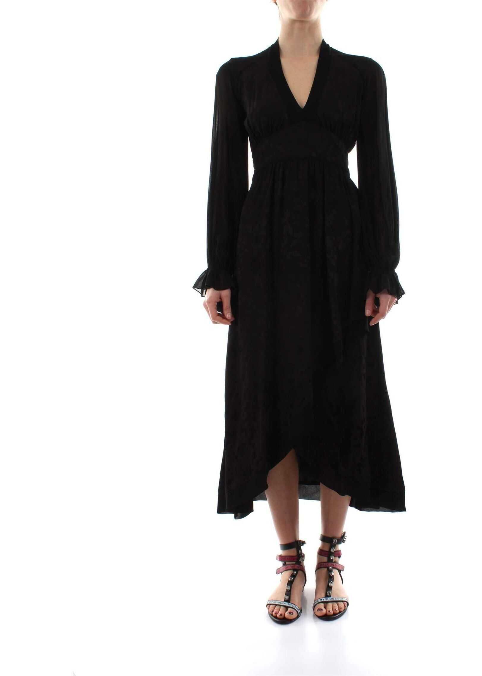 Pinko Wool Dress BLACK