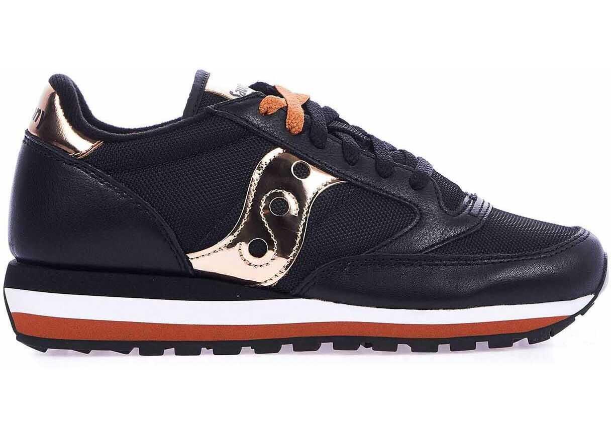 Saucony Suede Sneakers BLACK