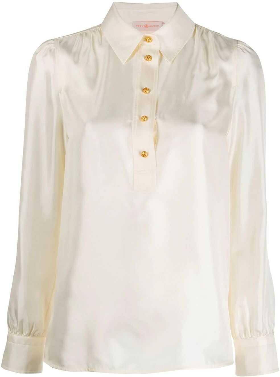 Tory Burch Silk Blouse WHITE