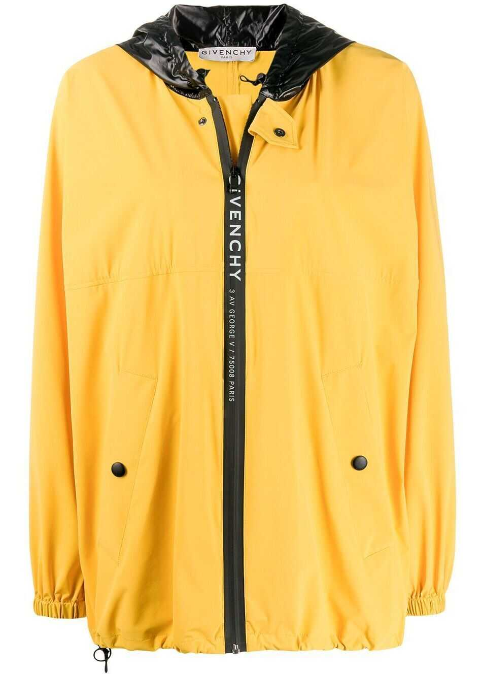 Givenchy Synthetic Fibers Outerwear Jacket YELLOW