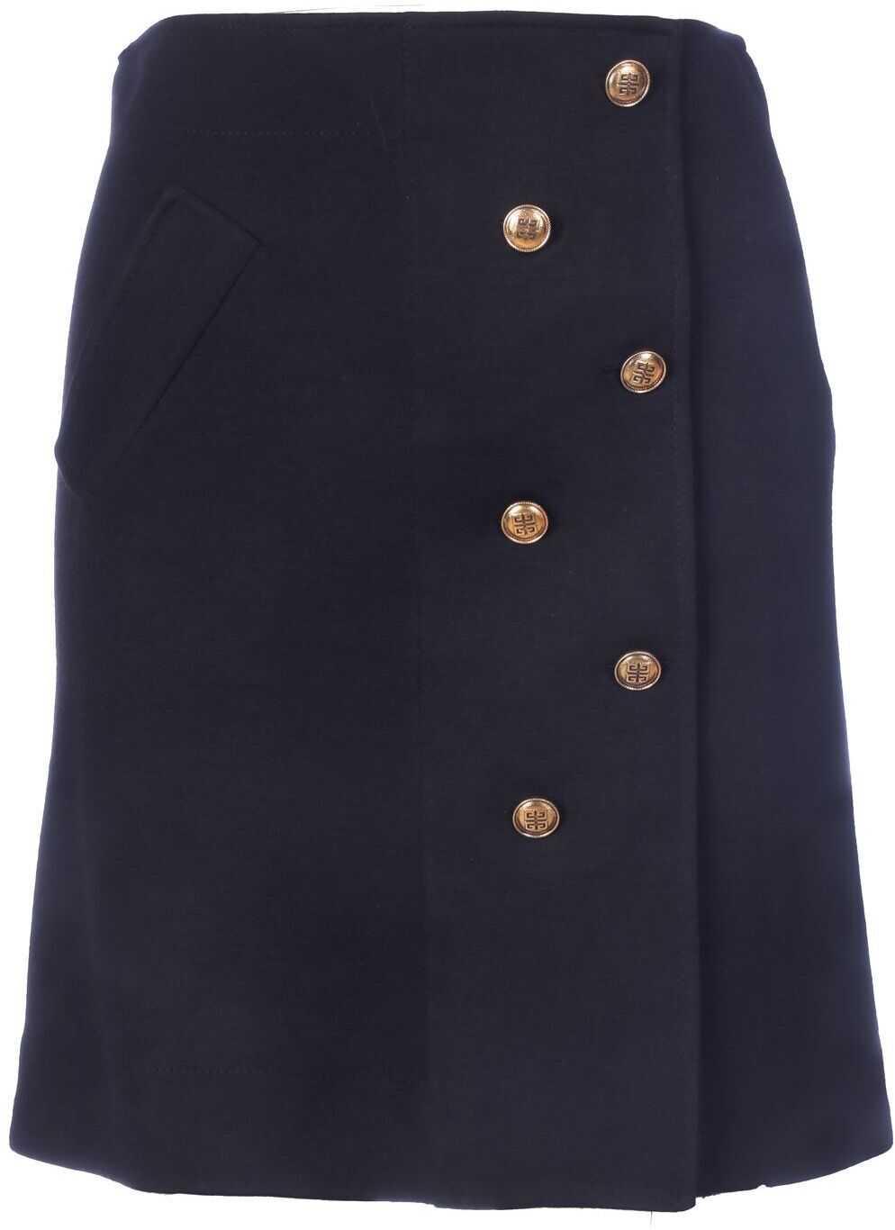 Givenchy Polyamide Skirt BLACK