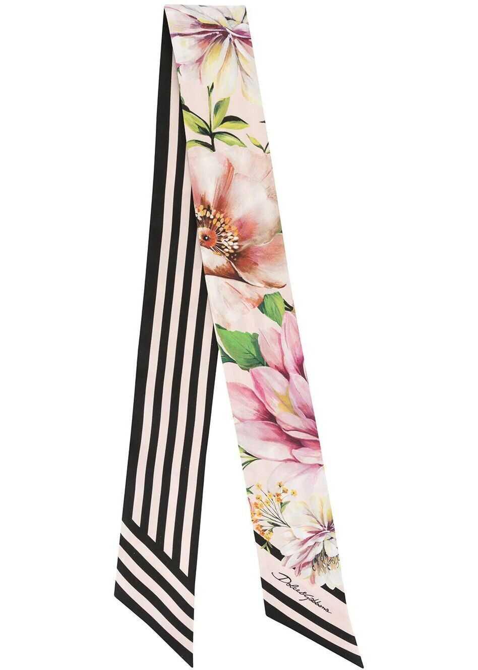 Dolce & Gabbana Silk Foulard PINK