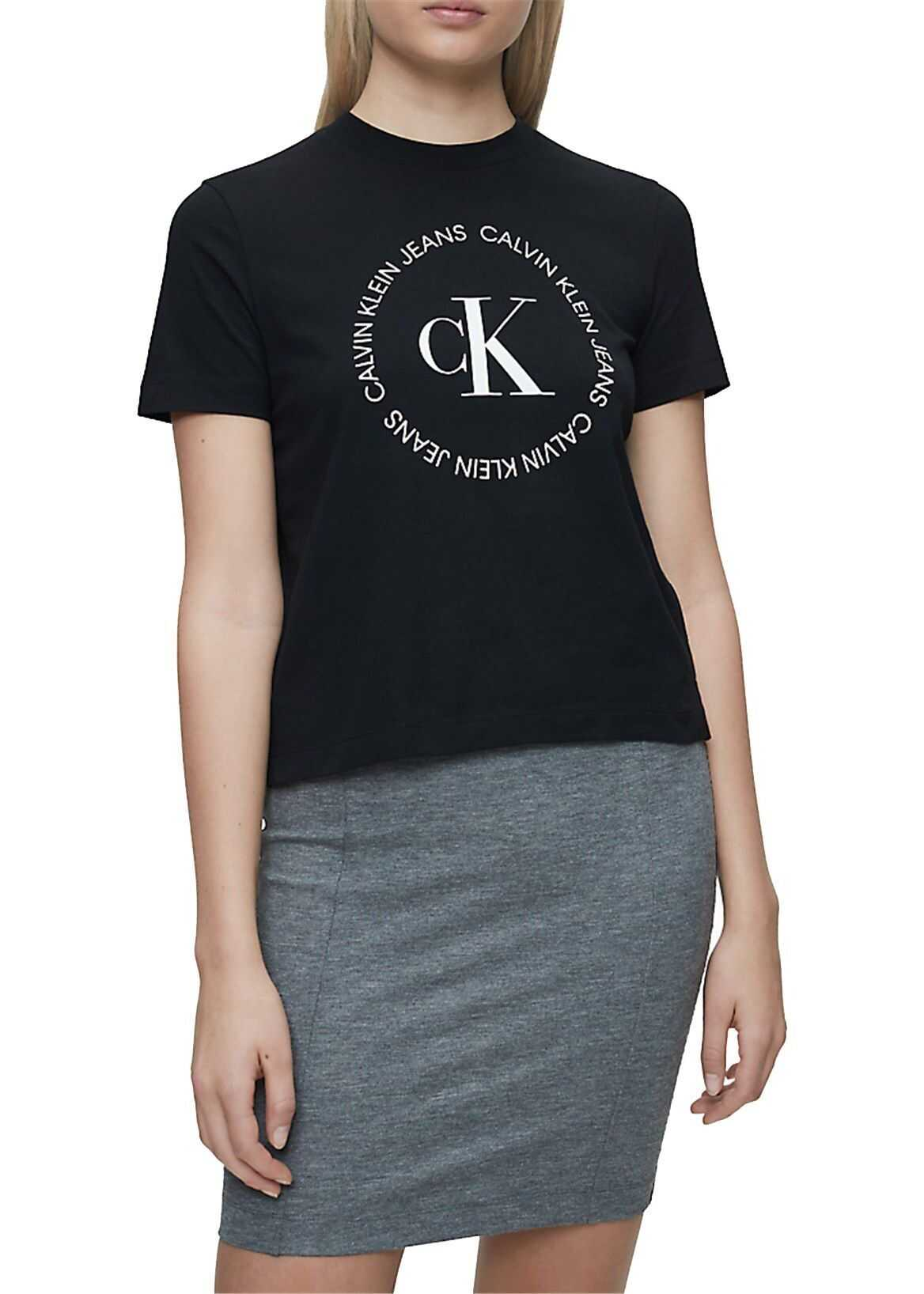 Calvin Klein Jeans Cotton T-Shirt BLACK