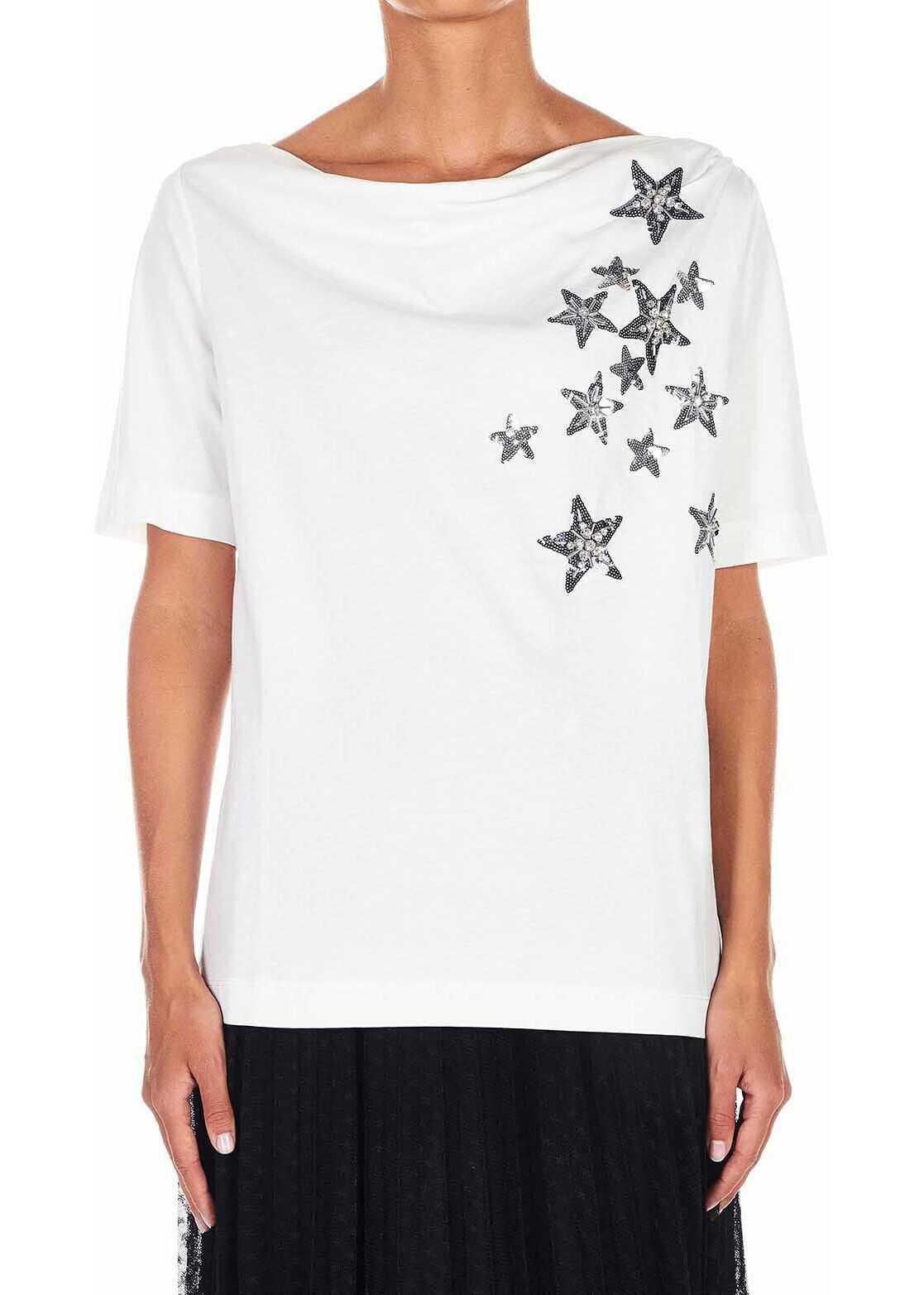 Liu Jo Shirt with glitter details White