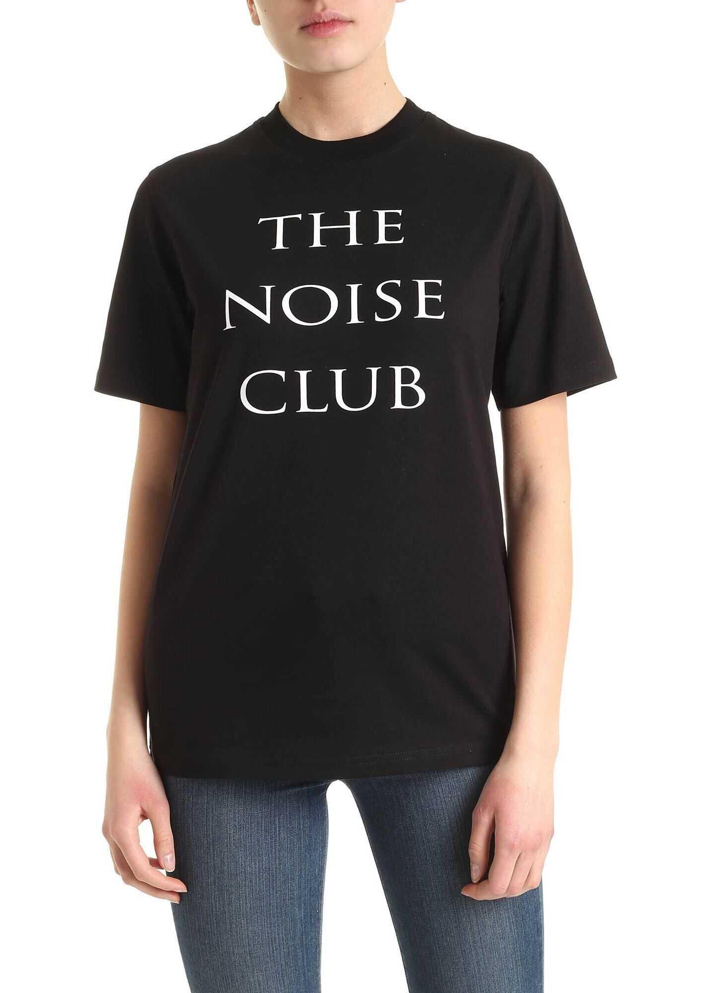 MCQ Alexander McQueen The Noise Club T-Shirt In Black Black