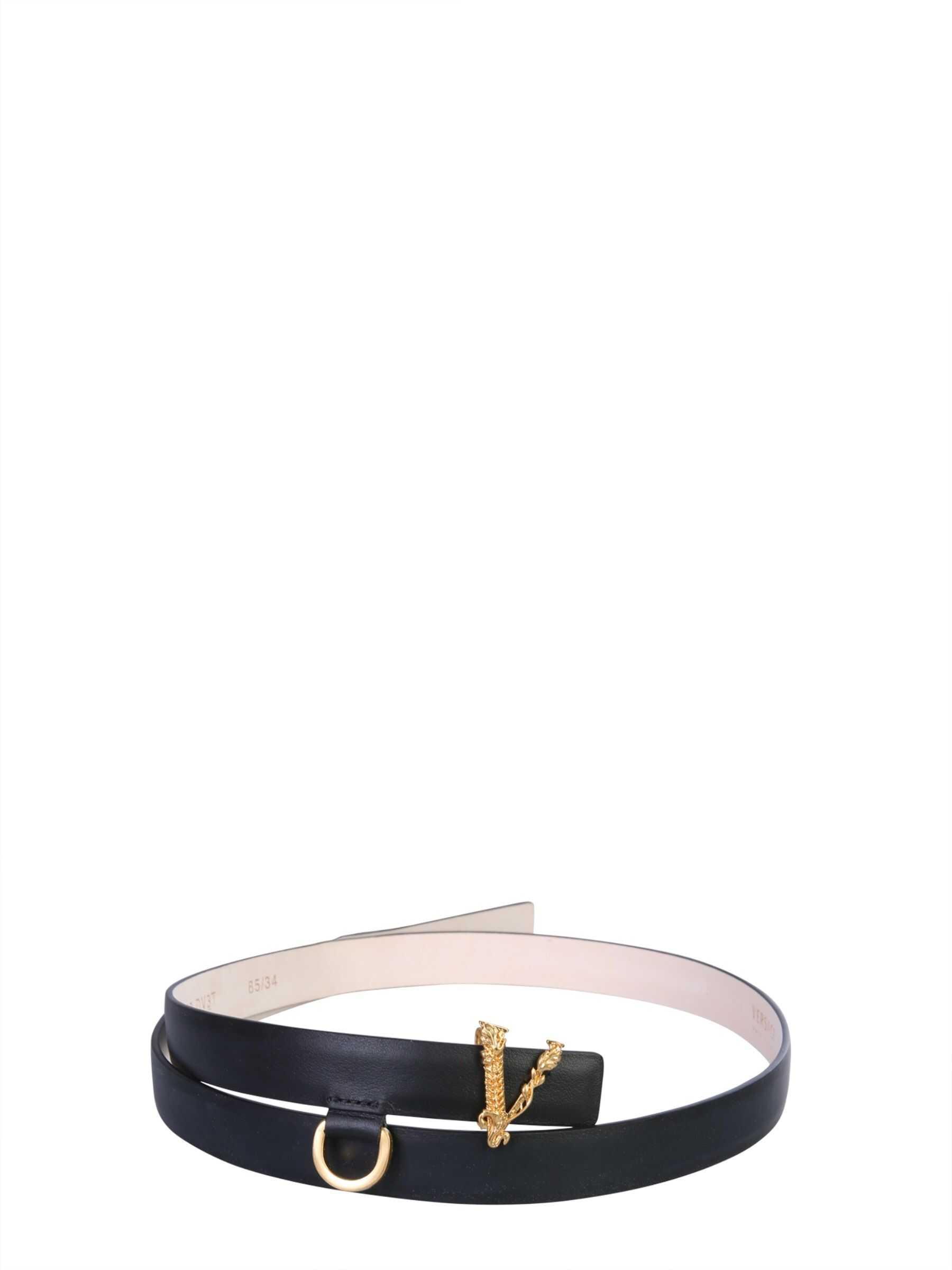 Versace Virtus Belt BLACK