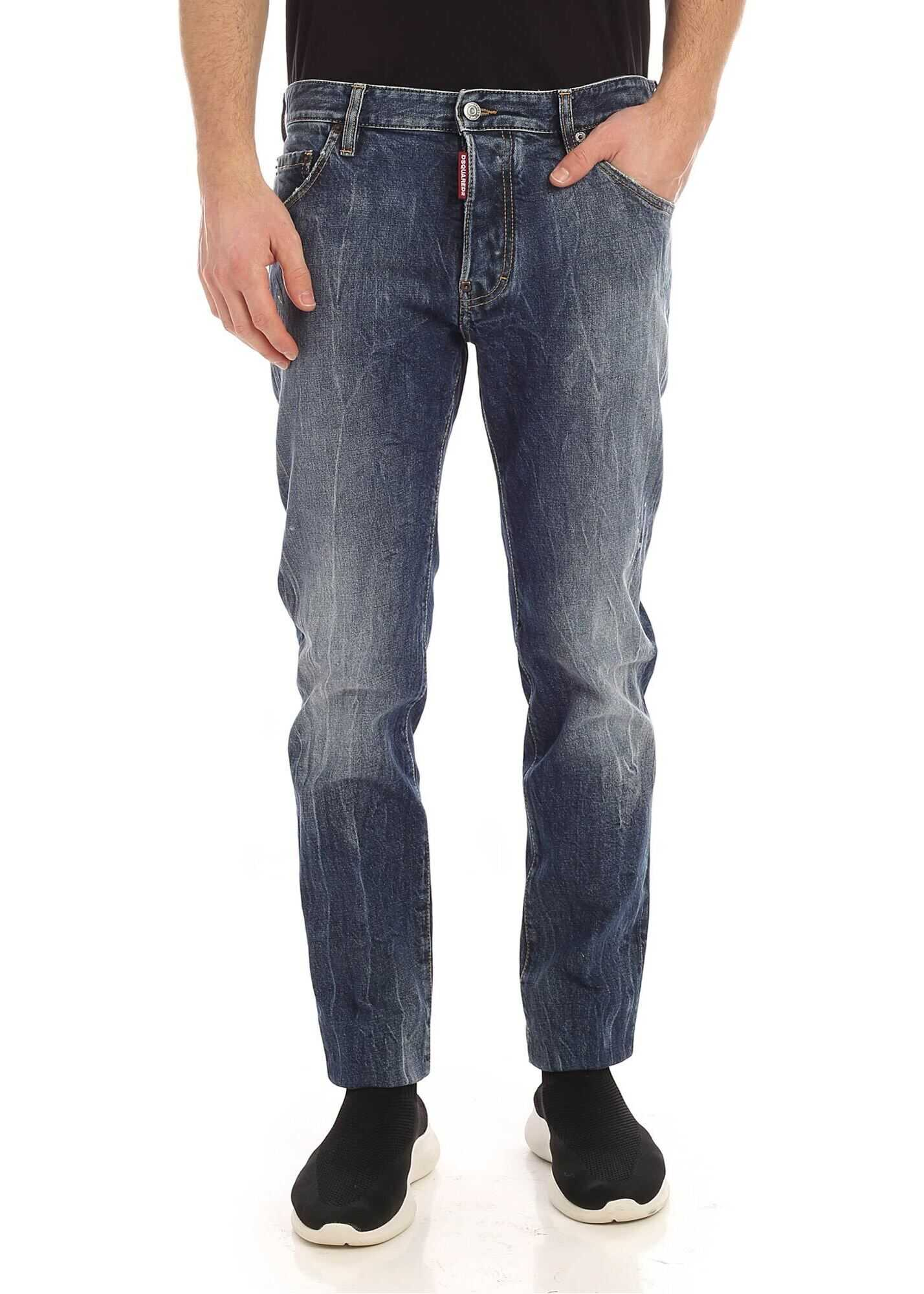 DSQUARED2 Cool Guy Jeans In Faded Blue Blue