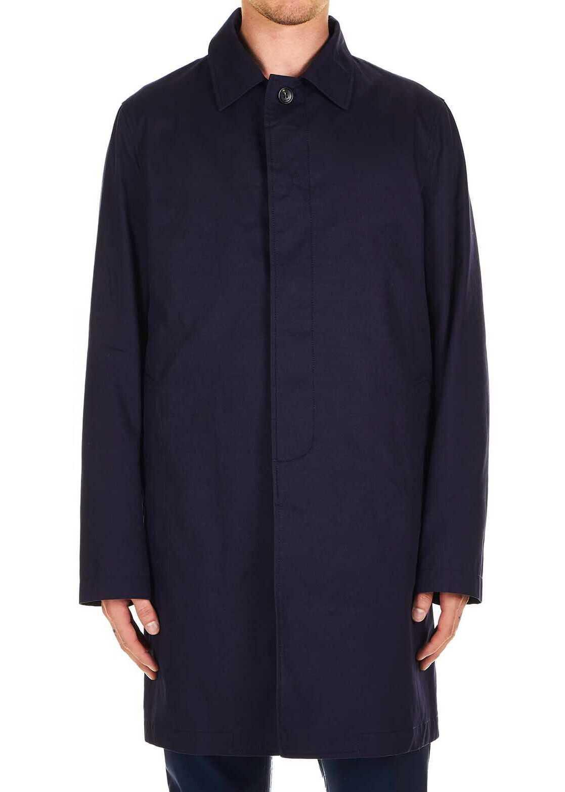 Lanvin Classic coat Blue