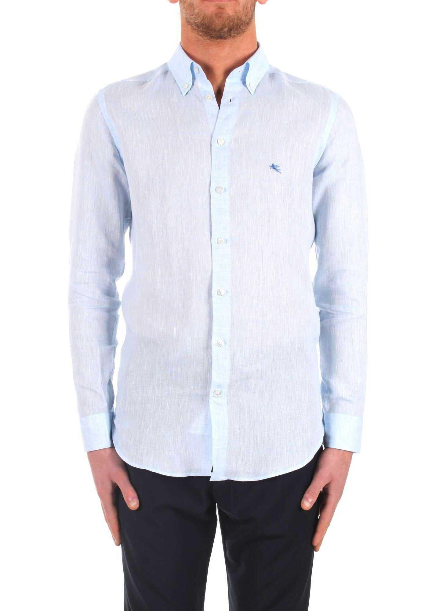 ETRO 1K9646700250 Linen Shirt thumbnail