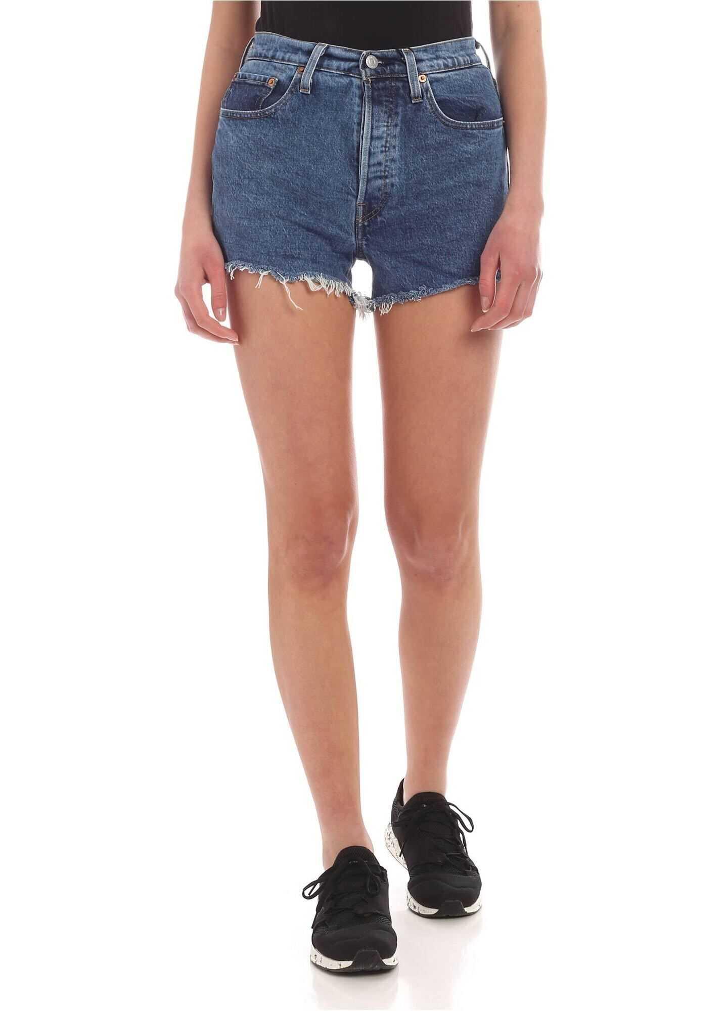 Levi`s® 501® Original Shorts In Blue Denim Blue