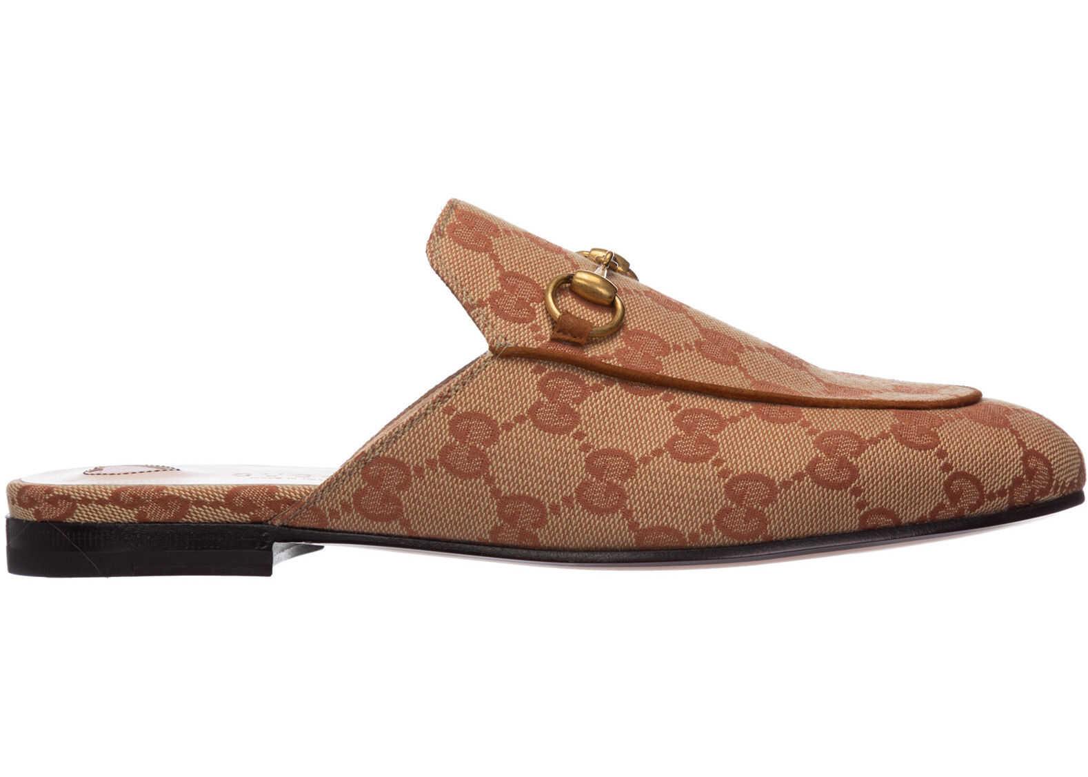 Gucci Sandals Princetown Brown