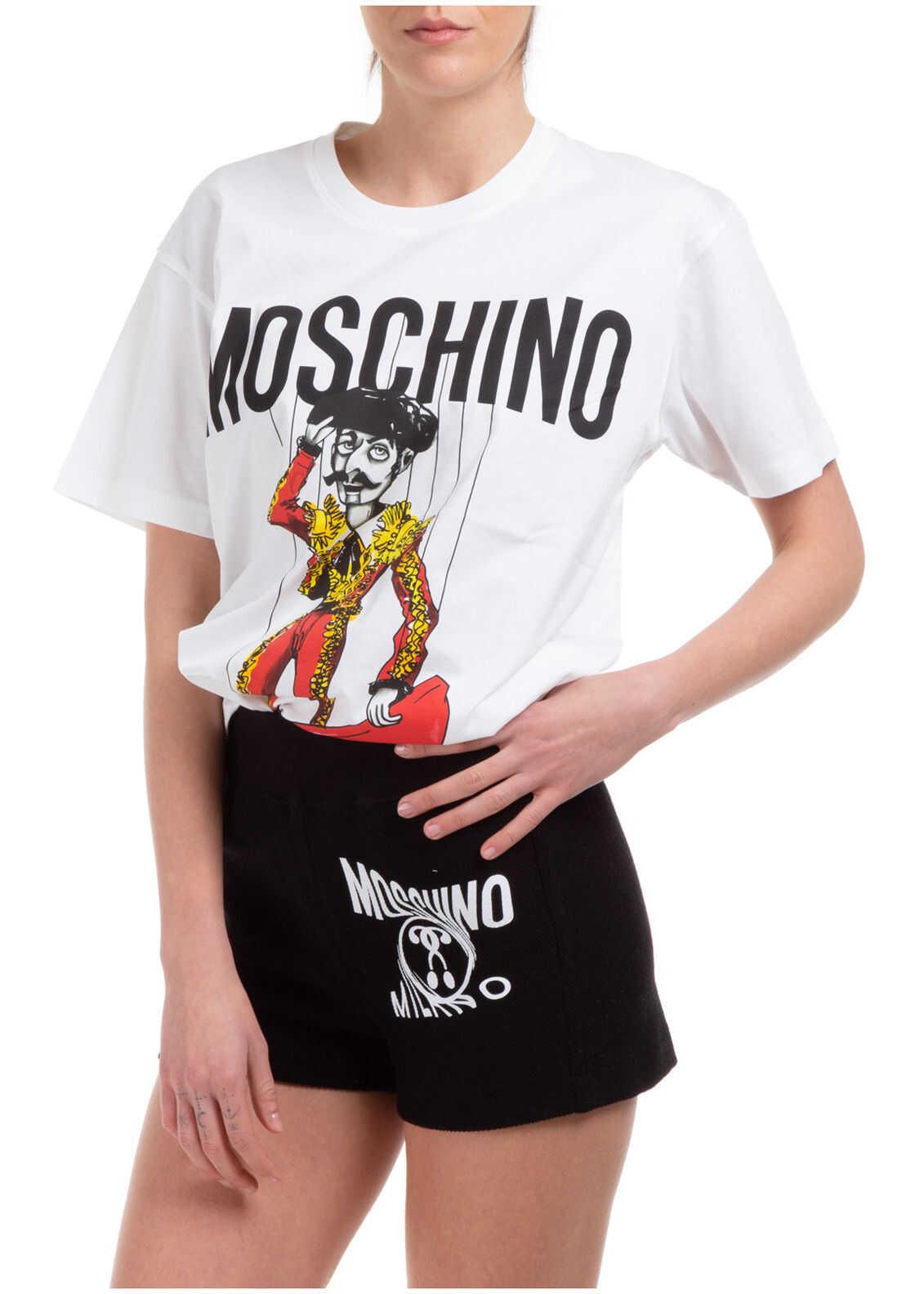 Moschino Matador Puppet White