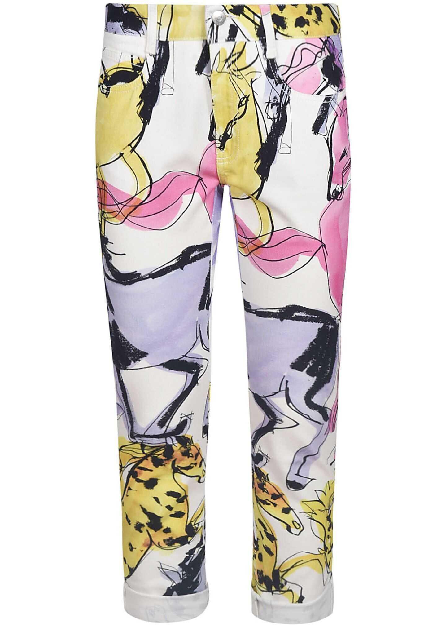 adidas by Stella McCartney Cotton Pants MULTICOLOR