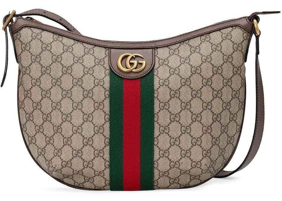 Gucci Polyurethane Shoulder Bag BROWN
