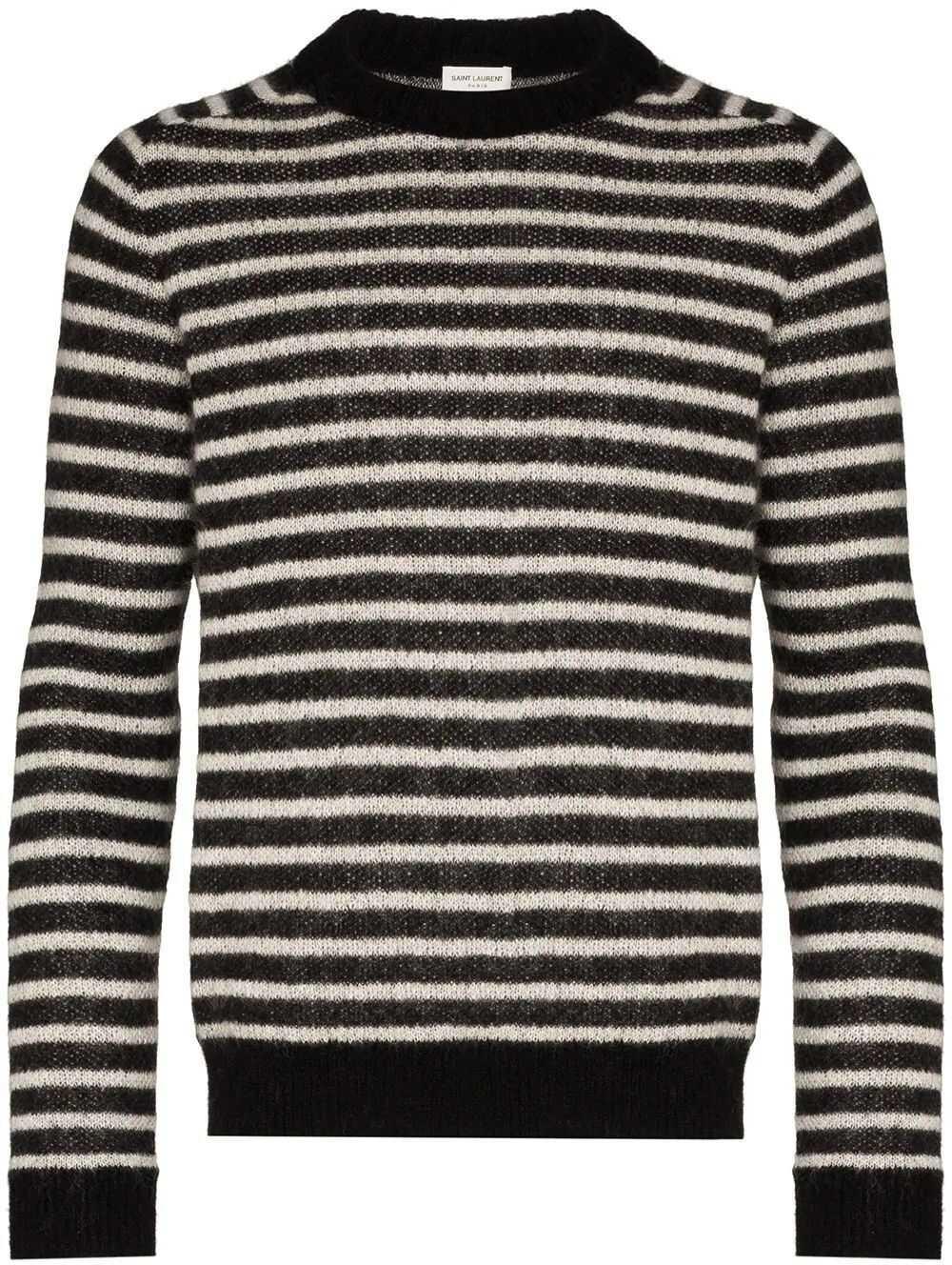 Saint Laurent Wool Sweater BLACK