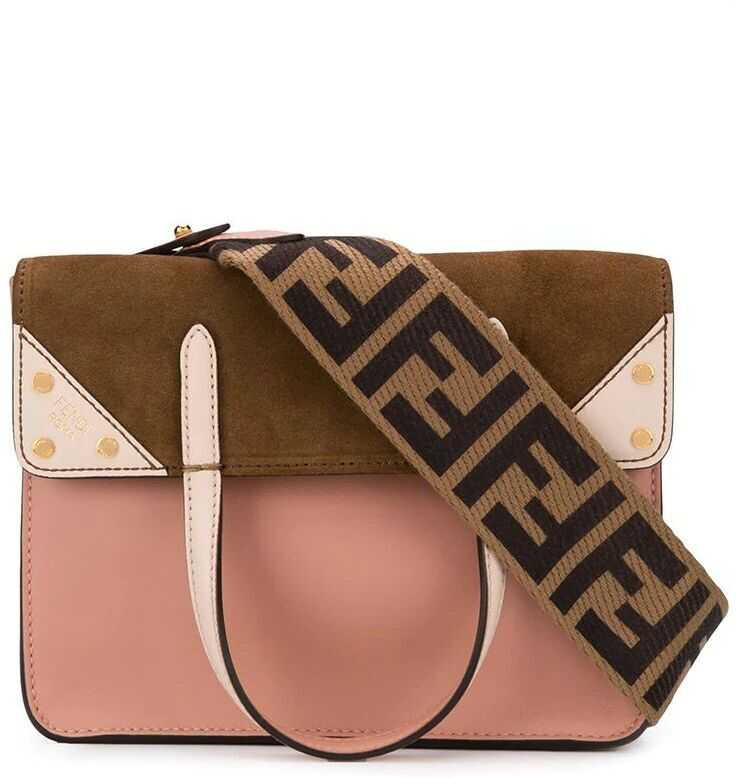Fendi Leather Handbag PINK