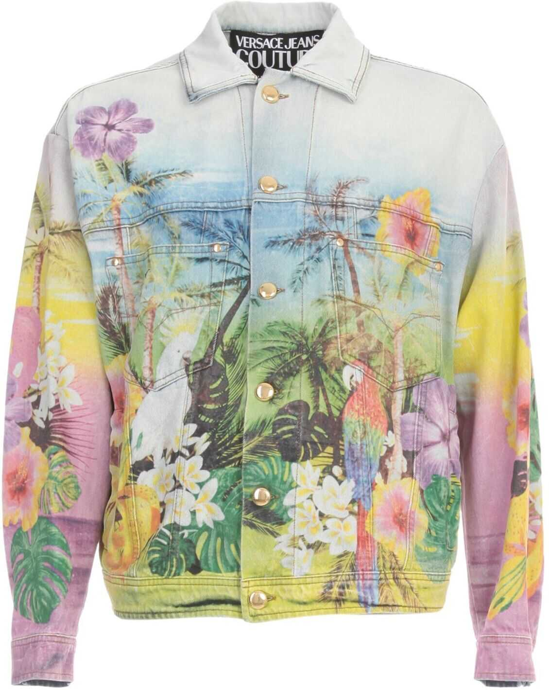 Versace Jeans Cotton Jacket MULTICOLOR
