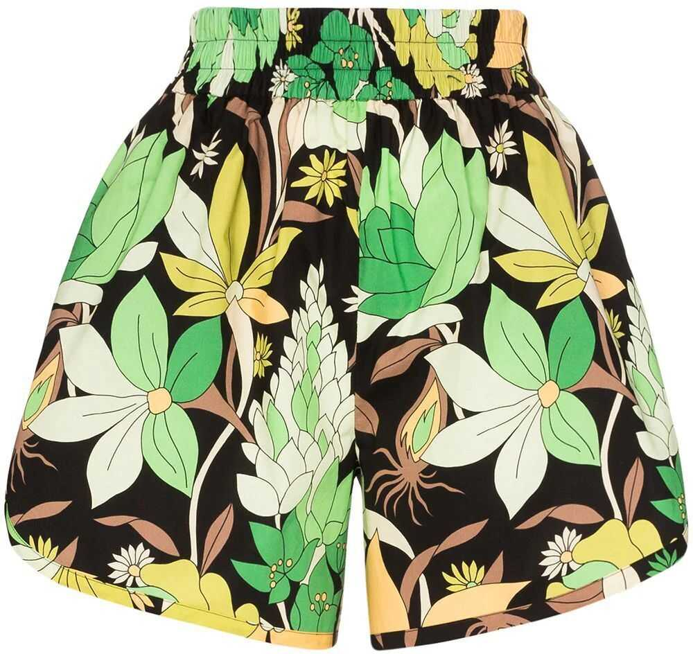 Fendi Cotton Shorts GREEN
