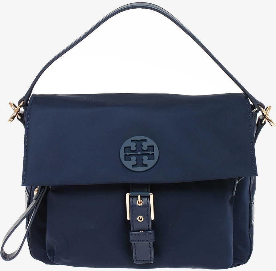 Tory Burch Fabric TILDA Crossbody Bag BLUE