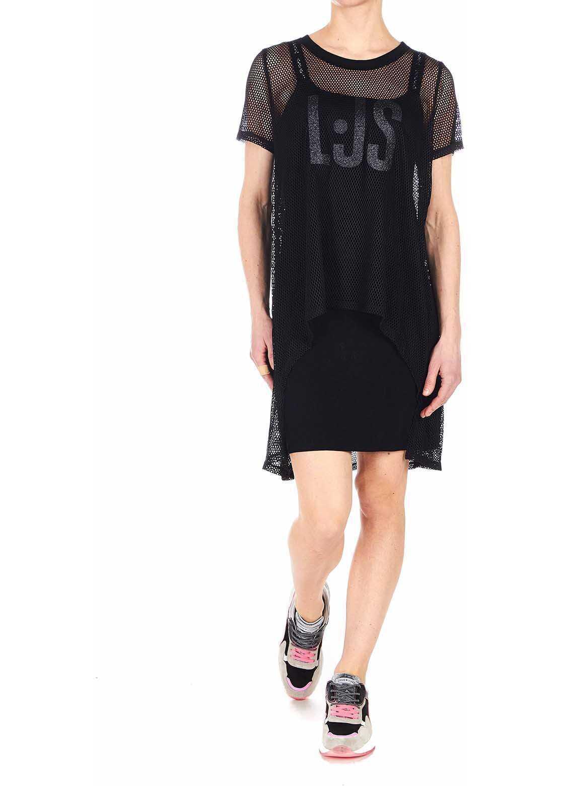 Liu Jo Mesh dress Black