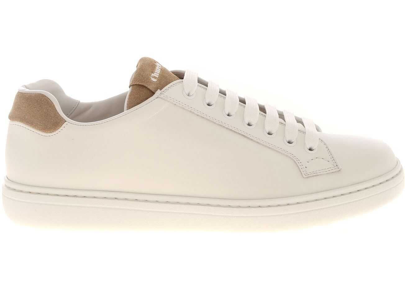 Church`s Boland Plus 2 Sneakers In Whie White