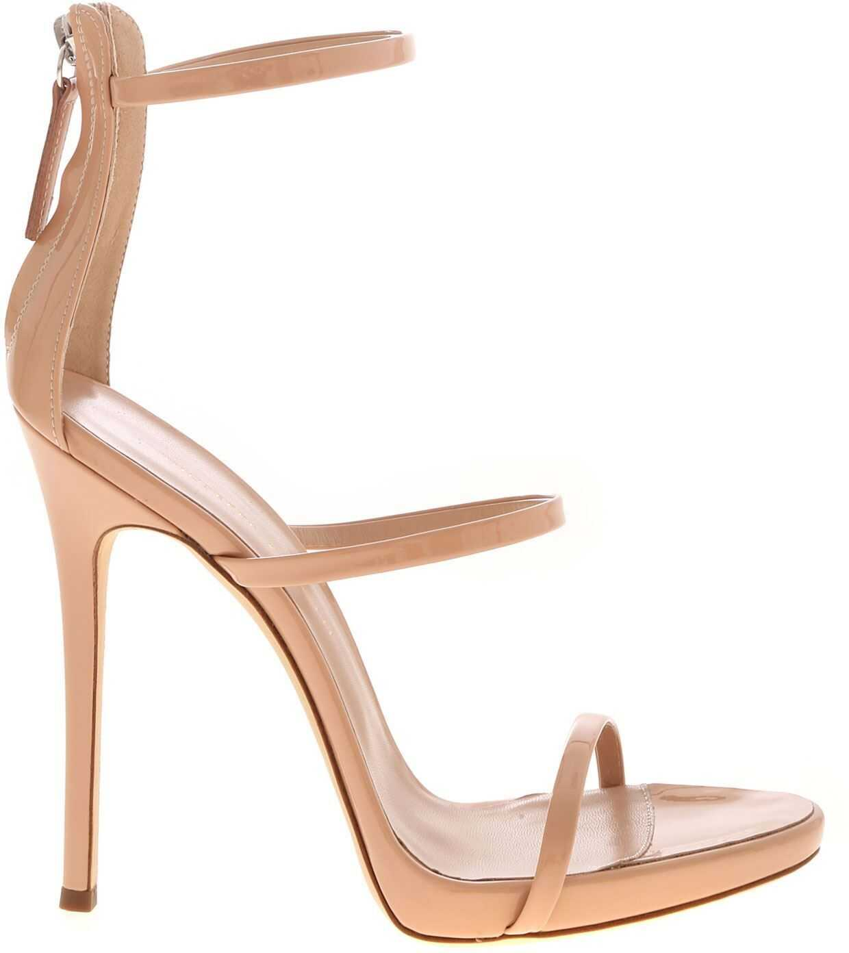 Giuseppe Zanotti Harmony Sandals In Powder Pink Color Pink
